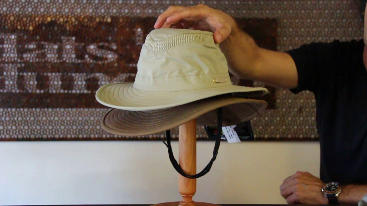 309c76c2fde Tilley Endurables T4 Hikers Hat Review- Hats By The Hundred - YouTube
