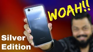 Realme 1 Silver Limited Edition 4GB+64Gb Variant Unboxing & Review | Worth a Look!