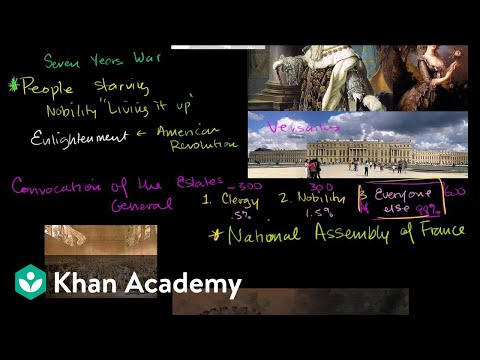 French Revolution (part 1) | World history | Khan Academy