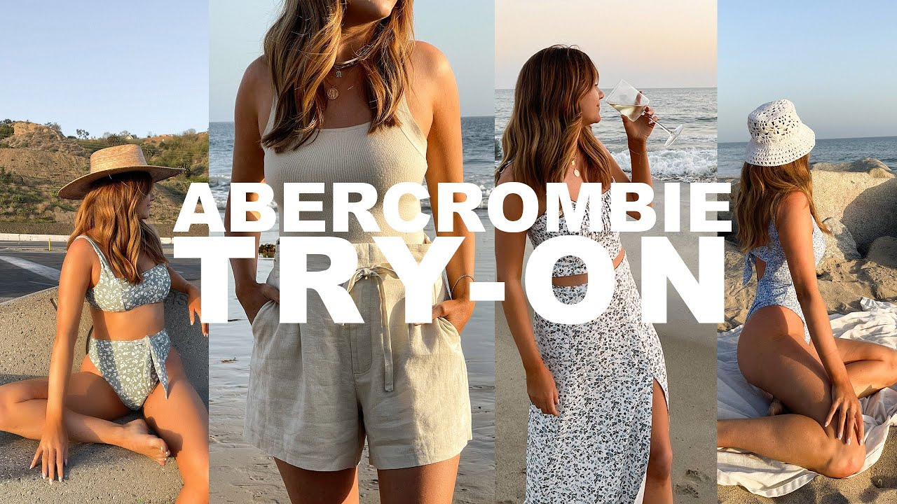 Download ABERCROMBIE HAUL | making a comeback, 90s denim, spring favorites, and swim suit try on haul - Pt. 2