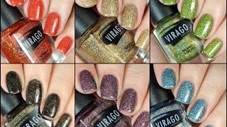 Virago Varnish Enchanting Sirens Live Swatch + Review!!