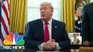 Donald Trump Signs Supporting Veterans In STEM Careers Act |  NBC News (Live Stream Recording)