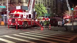 FDNY BOX 1622 - AFTERMATH VIDEO OF MAJOR FDNY 6TH ALARM FIRE IN A MULTIPLE DWELLING ON 144TH STREET.