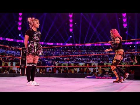 Download Alexa Bliss vs Asuka Full Match Raw 18 Jan 2021
