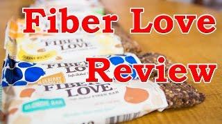 Fiber Love Bars Review (all Flavors)