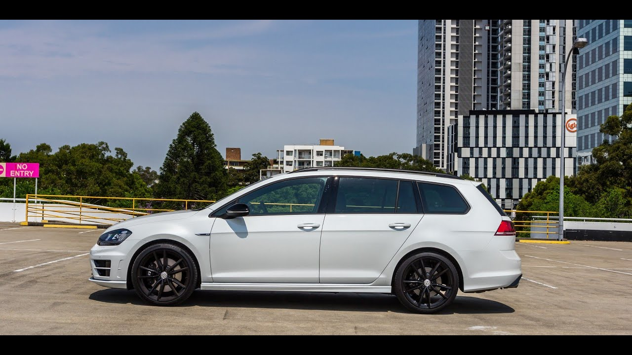 2016 Volkswagen Golf R Wagon Wolfsburg Edition Review - YouTube