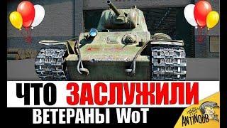 ПОДАРКИ ДЛЯ ВЕТЕРАНОВ WoT НА ДЕНЬ РОЖДЕНИЯ World of Tanks, КОТОРЫЕ МЫ ЖДЕМ!