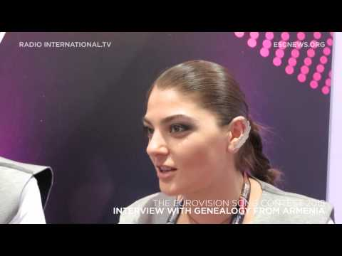 Eurovision 2015: Interview With Genealogy (Armenia)