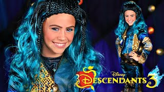 Descendants 3 Uma Makeup and Costume