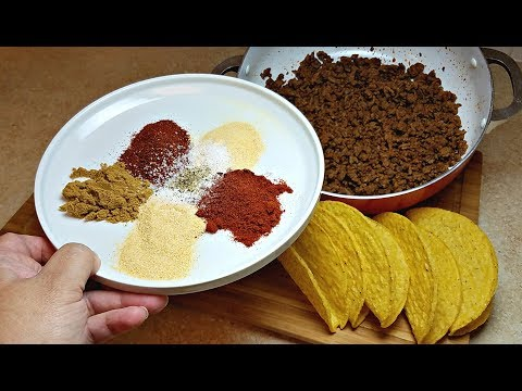Taco Seasoning Recipe| Taco Meat Recipe | Gochujang Mama Recipes