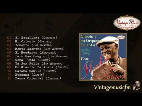 Ibrahim Ferrer. Chepin Orquesta Oriental, Colección Perlas Cubanas #22 (Full Album/Álbum Completo)