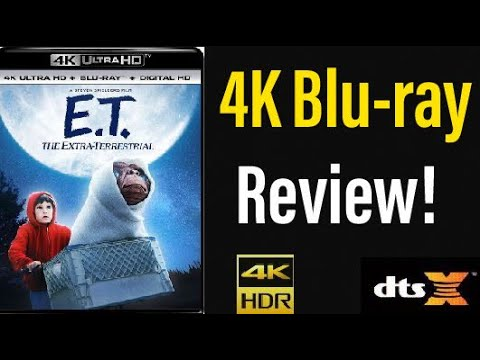 Download E.T. The Extra-Terrestrial (1982) 4K UHD Blu-ray Review!