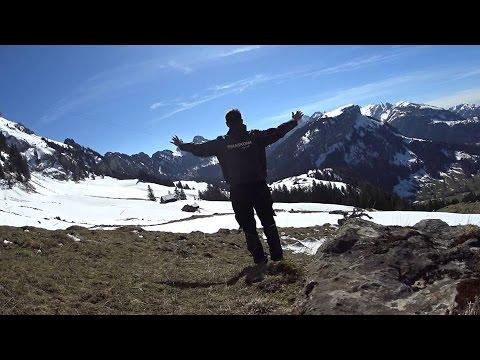 70.Appenzellerland.Kamionos az Alpokban.