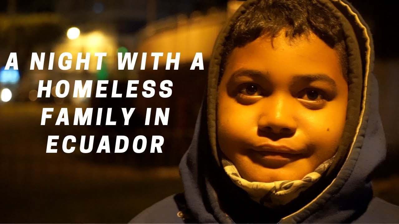 24 hours with a homeless Venezuelan family