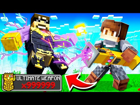 CRAFTING the ULTIMATE WEAPON in INSANE CRAFT!