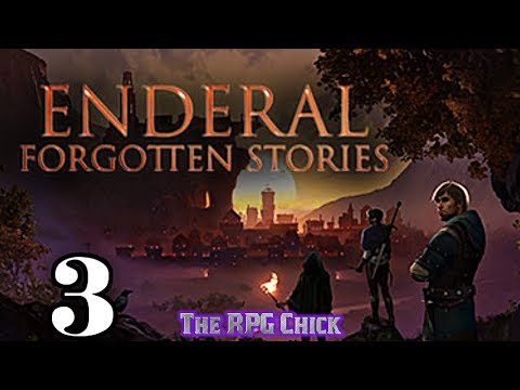 Let's Play Enderal - Forgotten Stories (Skyrim Mod - Blind), Part 3: Abandoned Temple