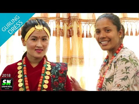 Gurung dress tutorials l How to wear female gurung dress | गुरुङ पोसाक लगाउँने सजिलो उपय