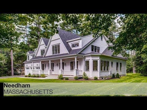 Video of 129 Edgewater Drive   Needham, Massachusetts real estate & homes by Adriano Varano