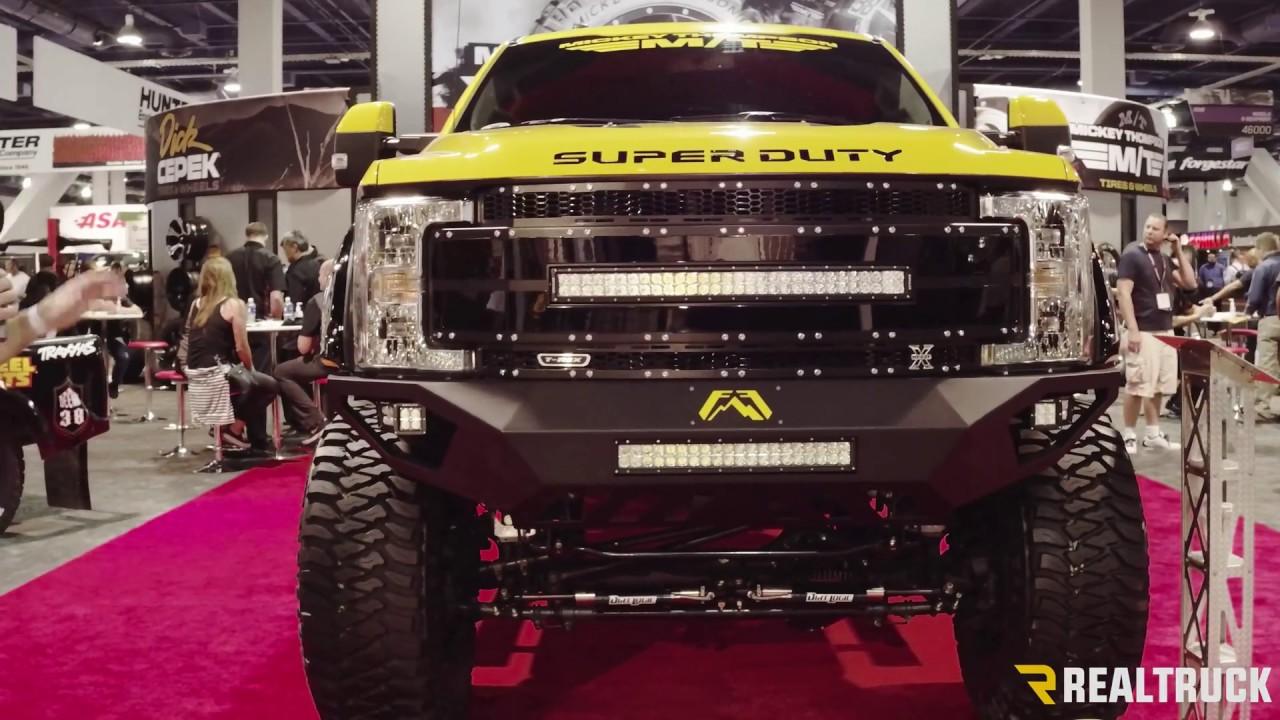 Mickey Thompson Custom 2017 Ford F 350 Super Duty Sema 2016 Youtube
