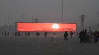 """China """"Televises Sunrise As Smog Is So Bad"""""""