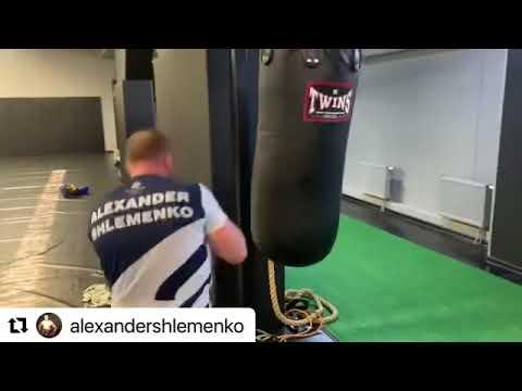 Тренировка Александра Шлеменко 🌪🥊