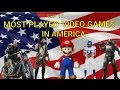 Top ten most played games in USA|| famous games||