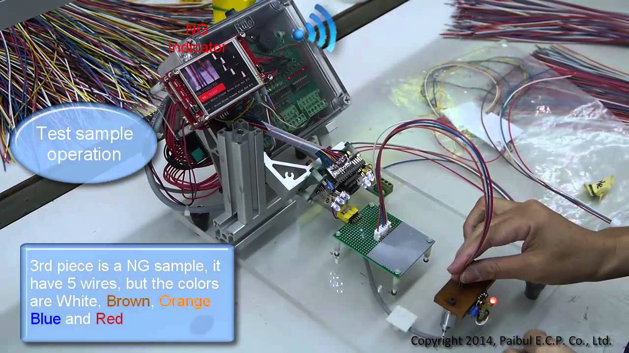 Wire Color Detector - YouTube