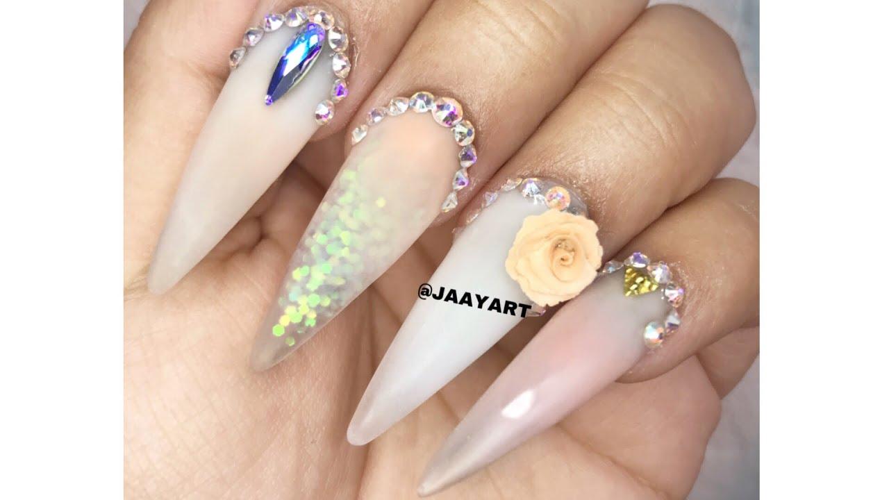 Uñas Punta Stiletto Escultural Uñas De Moda En Instagram Jaayart