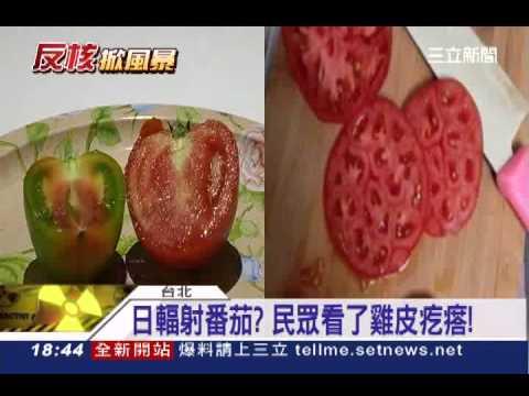 日核災污染的番茄?民眾看了雞皮疙瘩│三立新聞台