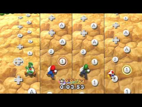 Mario Party 9 Minigame - Peak Precision