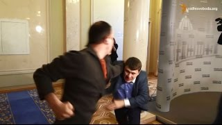 Депутати Єгор Соболєв та Вадим Івченко побилися в кулуарах