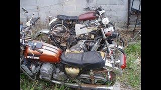 ВОТ ЭТО Я СХОДИЛ НА СВАЛКУ МЕТАЛЛОЛОМА и НАШЕЛ МНОГО ЗАПЧАСТЕЙ НА МОТОЦИКЛЫ / motorcycle