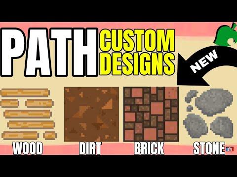 Custom Path Design Codes Animal Crossing New Horizons Youtube
