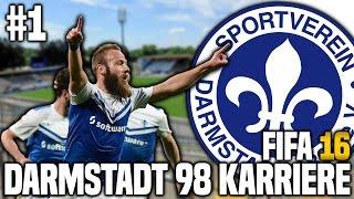 FIFA 16 Karrieremodus #1 - Willkommen in Darmstadt! | FIFA 16 Karriere SV Darmstadt 98 [S1EP1]