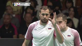 Video Daihatsu Yonex Japan Open 2017 | Badminton QF M2-MD | Kam/Son vs Iva/Soz download MP3, 3GP, MP4, WEBM, AVI, FLV Mei 2018