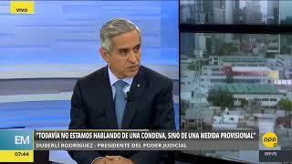 Duberlí habla de prisión preventiva a ex directivos de Graña y Montero, ICCGSA y JJ Camet│RPP
