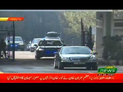 Saudi Wali bin ahad reached pakistan