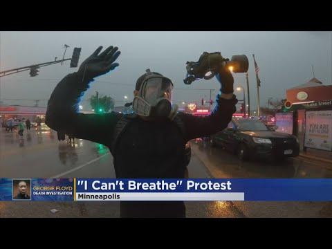 Տեսանյութ.Զանգվածային անկարգություններ՝ ԱՄՆ Մինեապոլիս քաղաքում.Ոստիկաններն արցունքաբեր գազ են կիրառել
