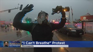Protesters Clash With Minneapolis Police