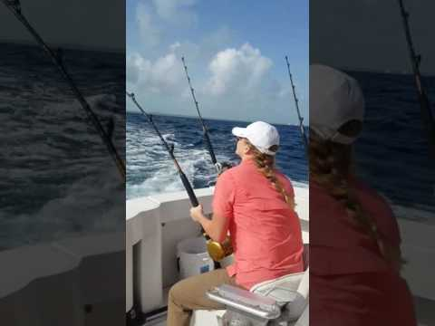 Fishing with Elyssa Glick in the Turks