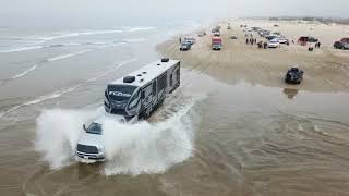 CRAZY Pismo beach dunes day in the sand 2020 CHEVROLET SILVERADO TOYHAULER FORD TOYOTA all cross