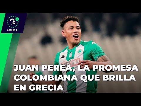 Juan José Perea, La Promesa Del Fútbol Colombiano Que Está En Un Grande Grecia