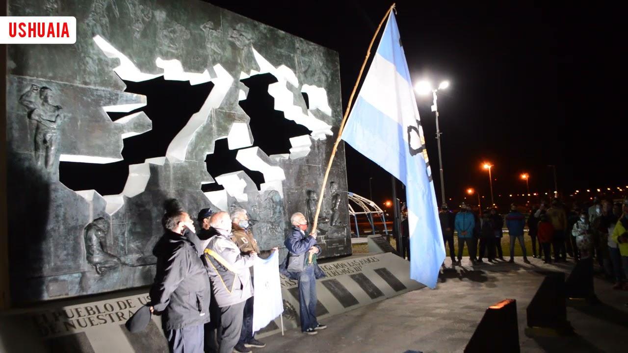 Autoconvocatoria de vecinos por el 2 de Abril en Ushuaia