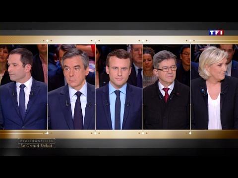 French candidates slug it out over economy