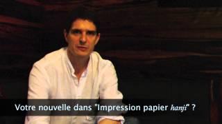 Stephane Mot Impressions papier hanji