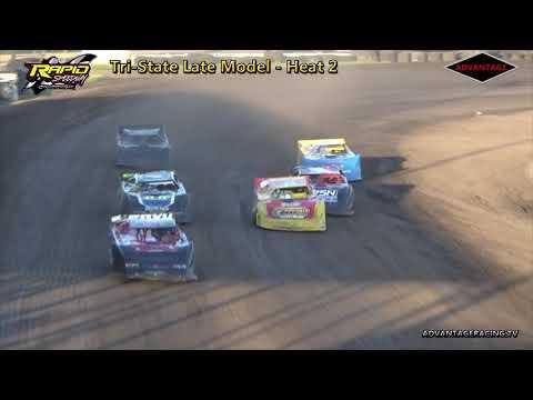 Tri-State Late Model Heats - Rapid Speedway - 7/17/18