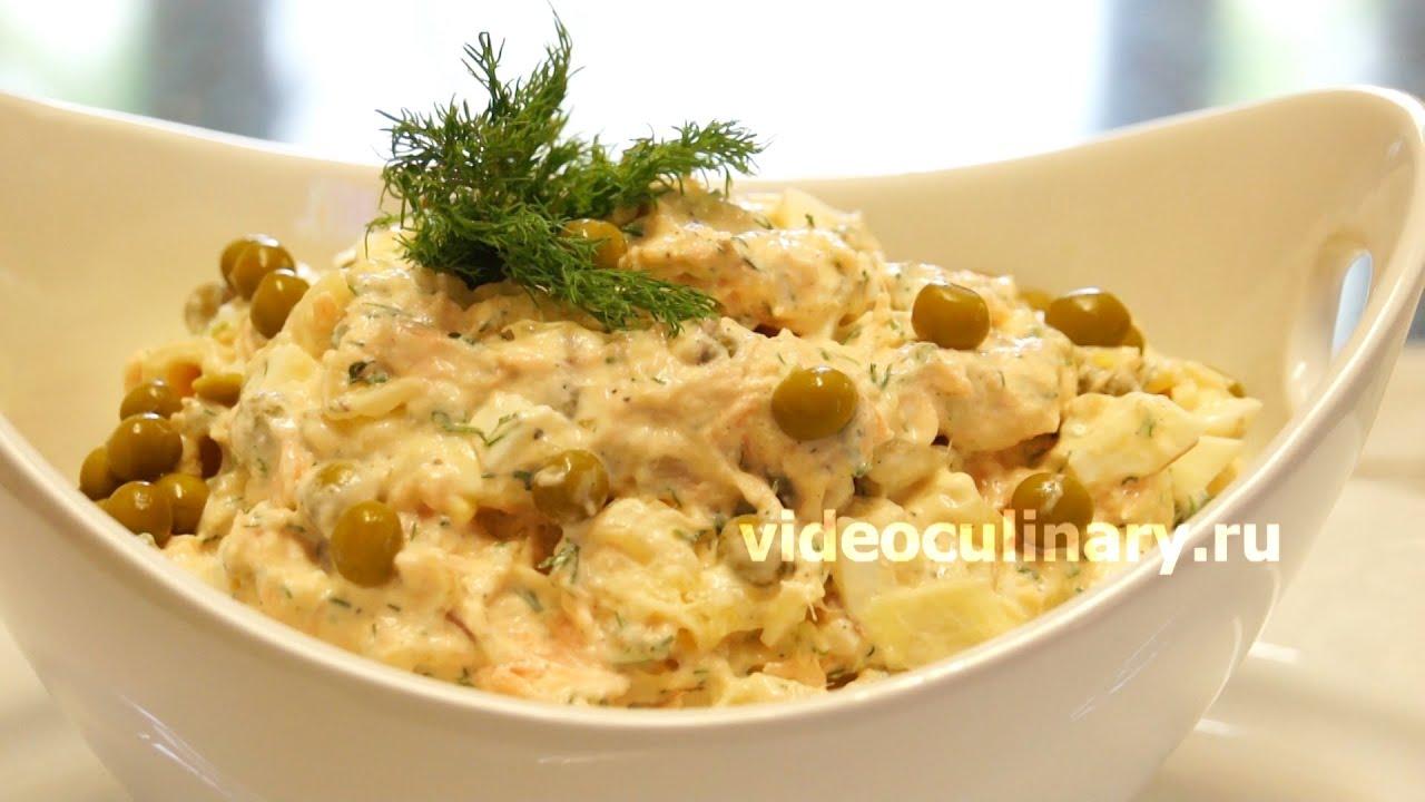 салат картофельный берлин рецепт