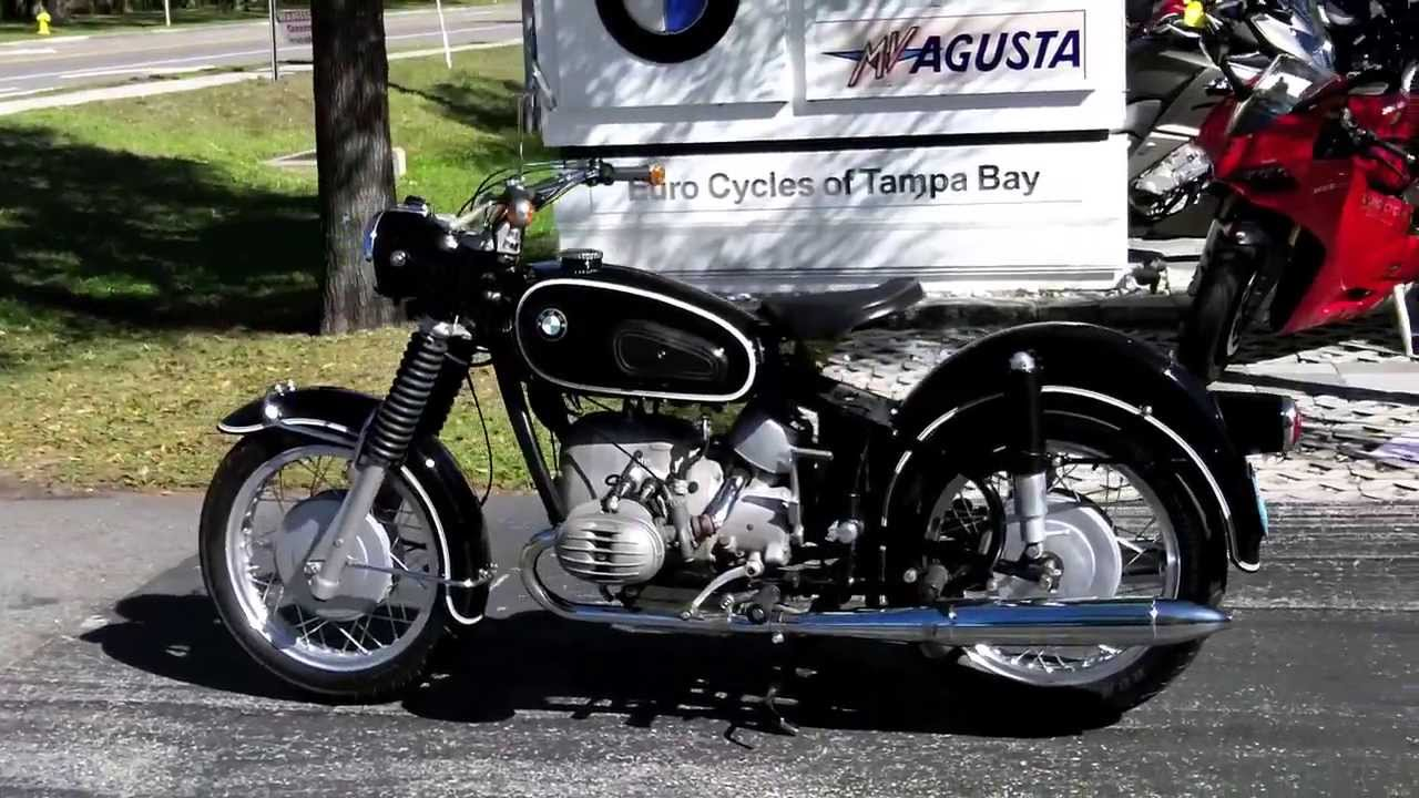 1969 bmw r60/2 us for sale at euro cycles of tampa bay - youtube