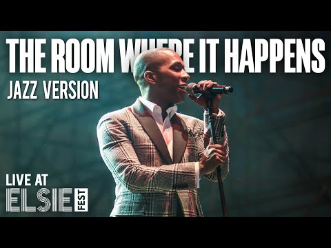 "Leslie Odom Jr. ""The Room Where It Happens"" @ Elsie Fest"