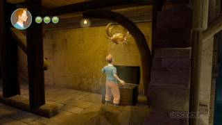 The Adventures of Tintin: The Game Dungeon Gameplay